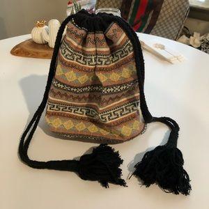 Grace Roberts NY Boho Crossbody Bucket Bag